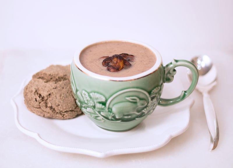 Mushroom-Chestnut-Soup