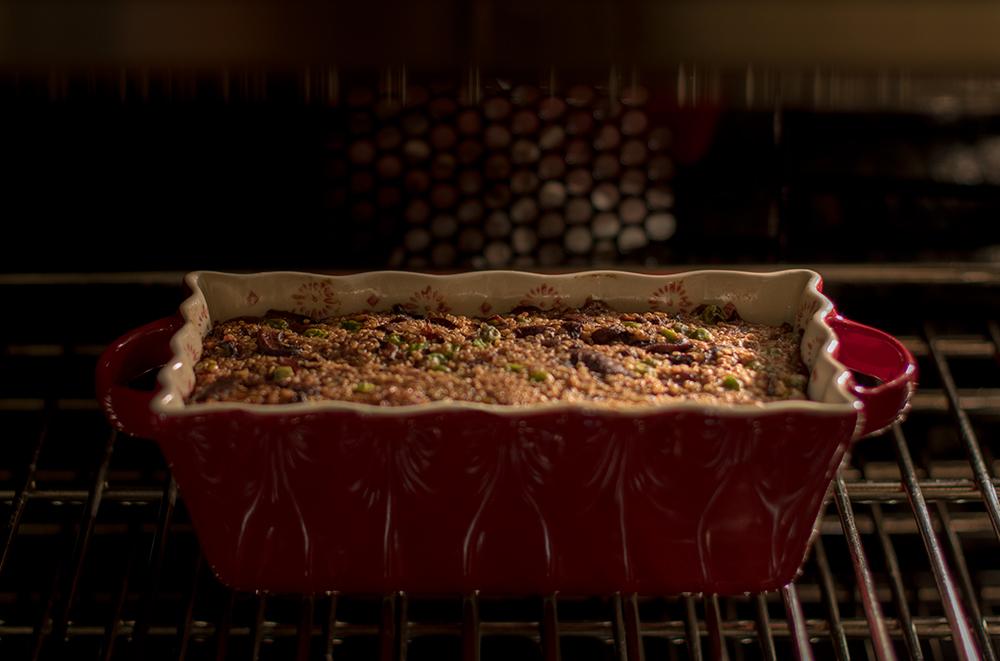 Mushroom-Loaf-in-Oven