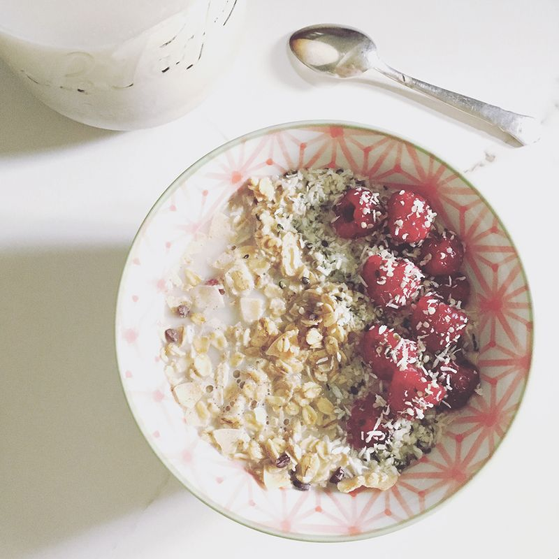 Granola-and-Raspberries